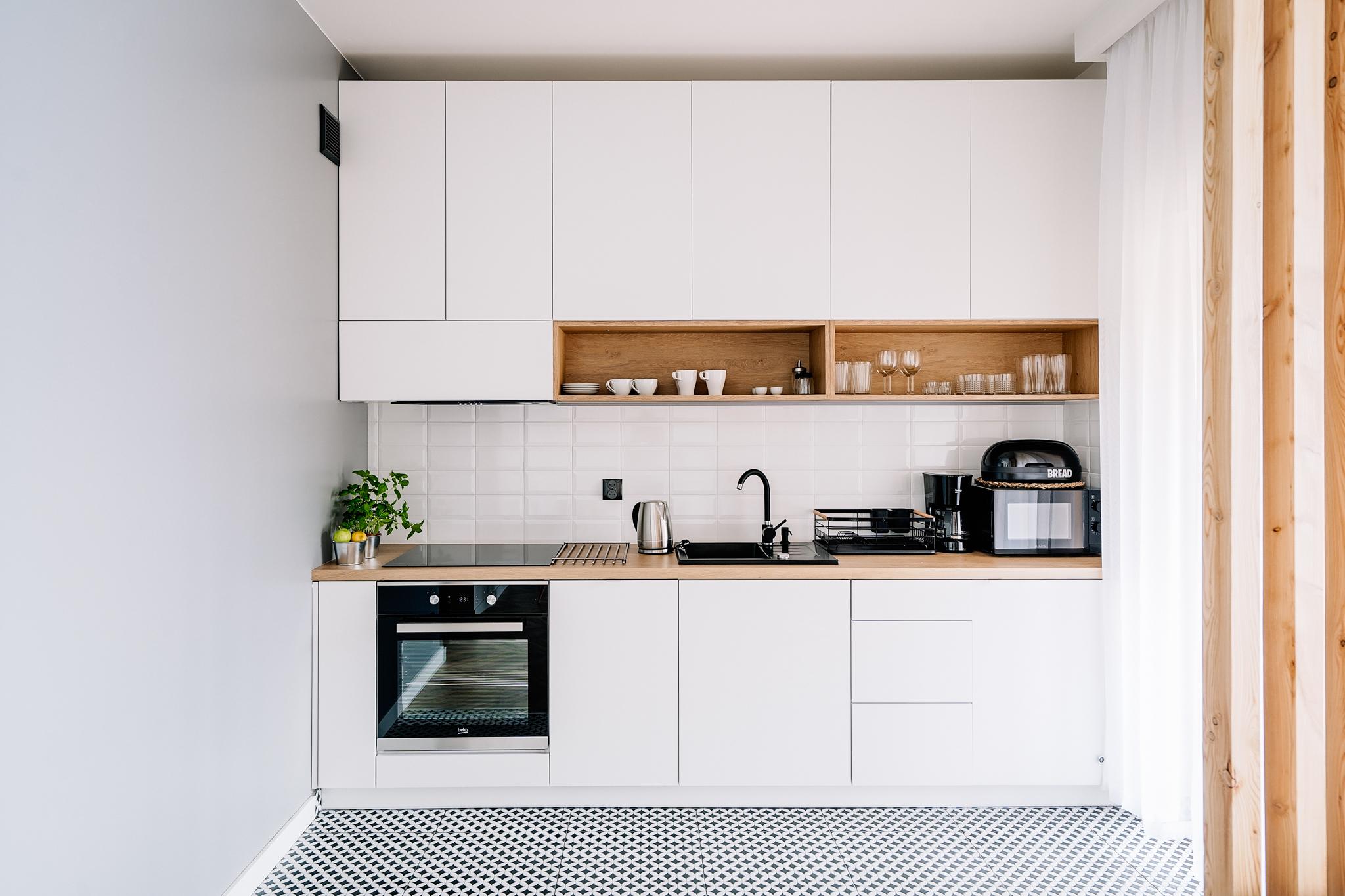 Apartamenty NOVA BIAŁKA Białka Tatrzańska apartament 1 kuchnia
