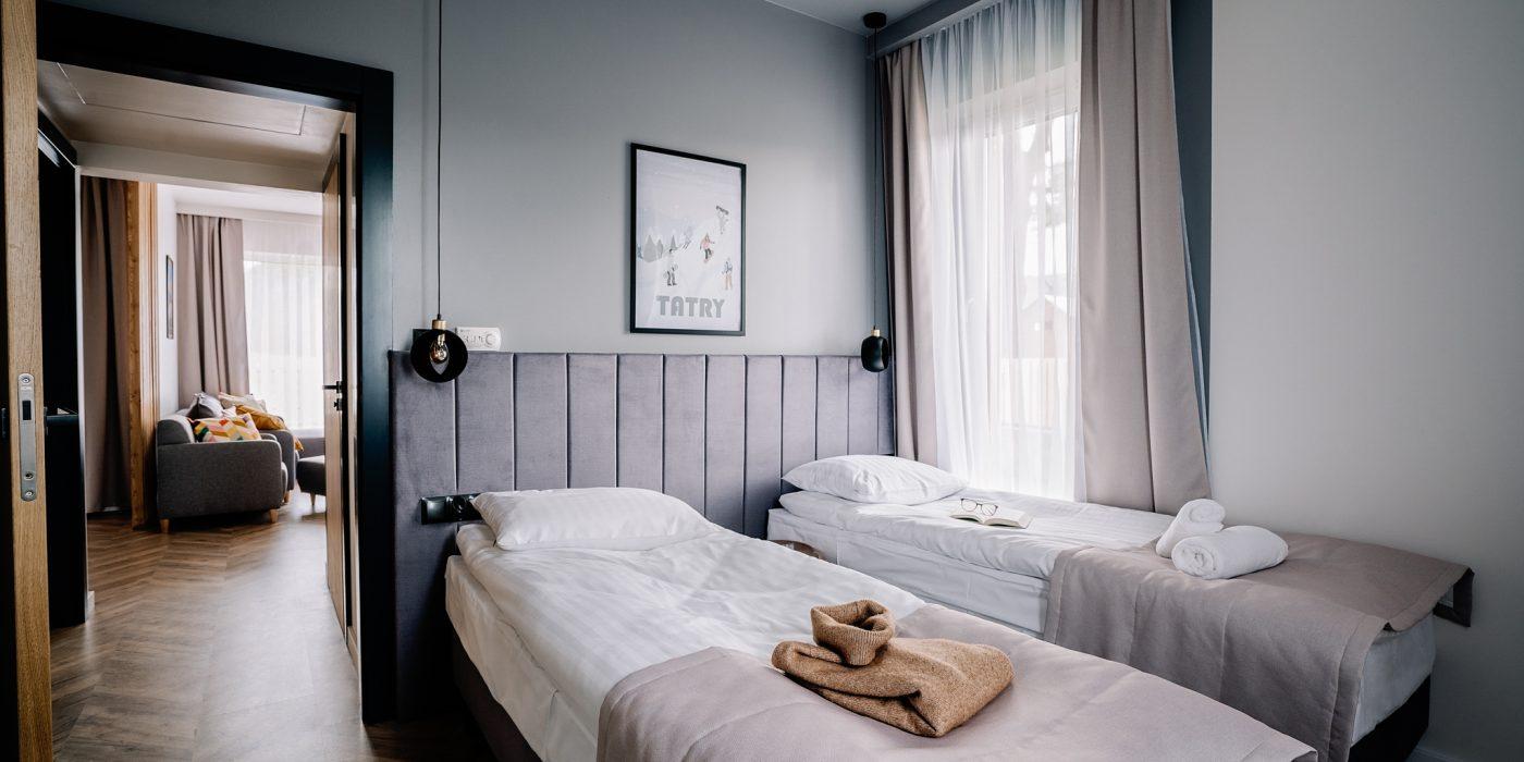 Apartamenty NOVA BIAŁKA Białka Tatrzańska apartament 1 sypialnia 3