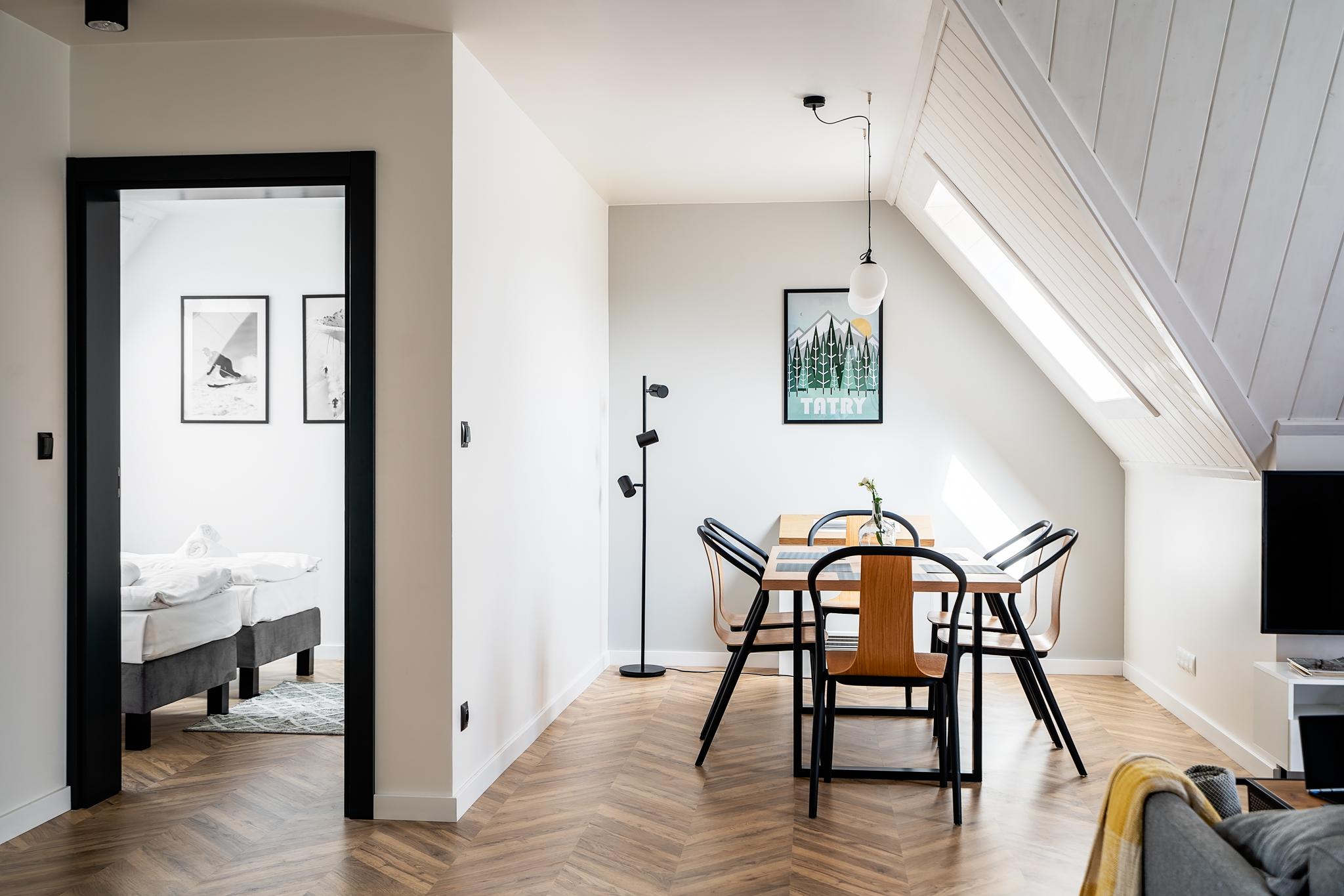 Apartamenty NOVA BIAŁKA Białka Tatrzańska apartament 4 jadalnia