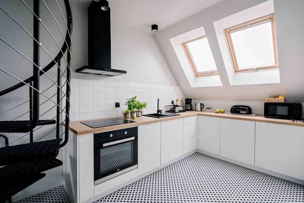 Apartamenty NOVA BIAŁKA Białka Tatrzańska apartament 4 kuchnia