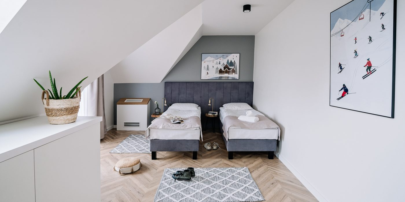 Apartamenty NOVA BIAŁKA Białka Tatrzańska sypialna 2 apartament 3