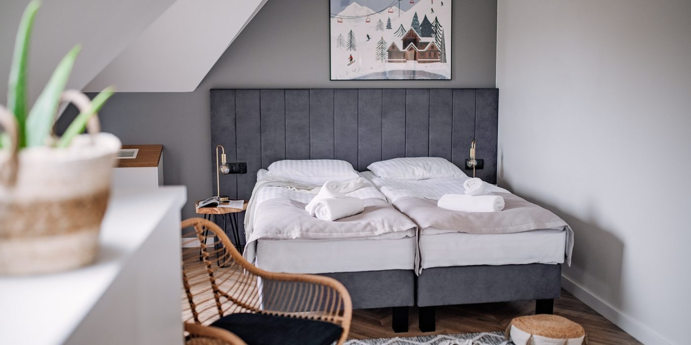 Apartamenty NOVA BIAŁKA Białka Tatrzańska sypialna apartament 3