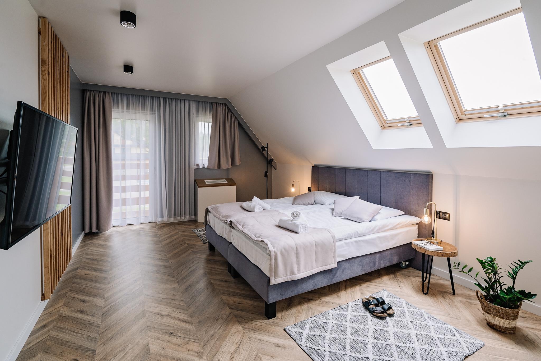 Apartamenty NOVA BIAŁKA Białka Tatrzańska sypialnia nr 2 apartament 3