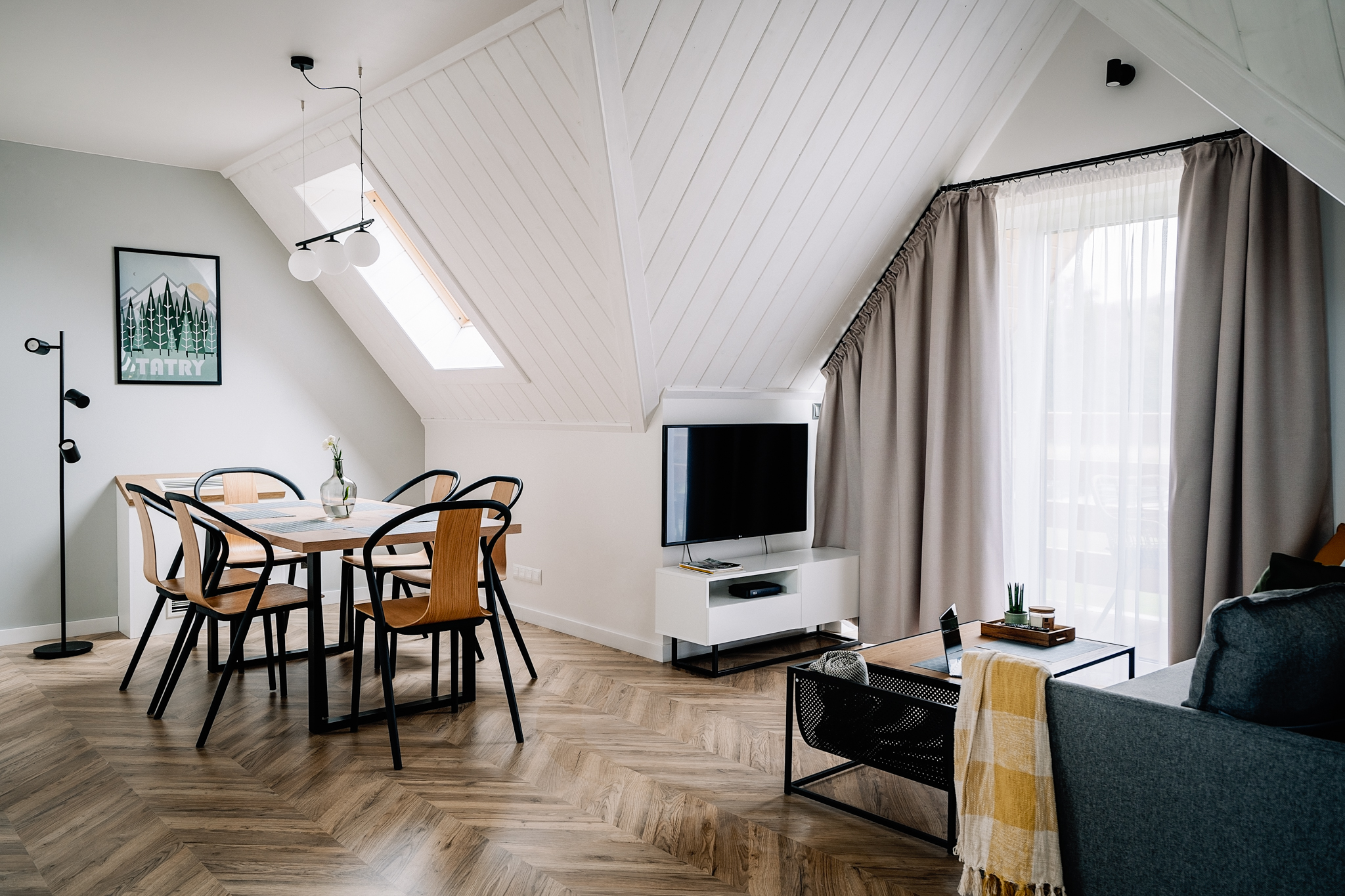 Apartamenty NOVA BIAŁKA Białka Tatrzańska apartament 4 salon