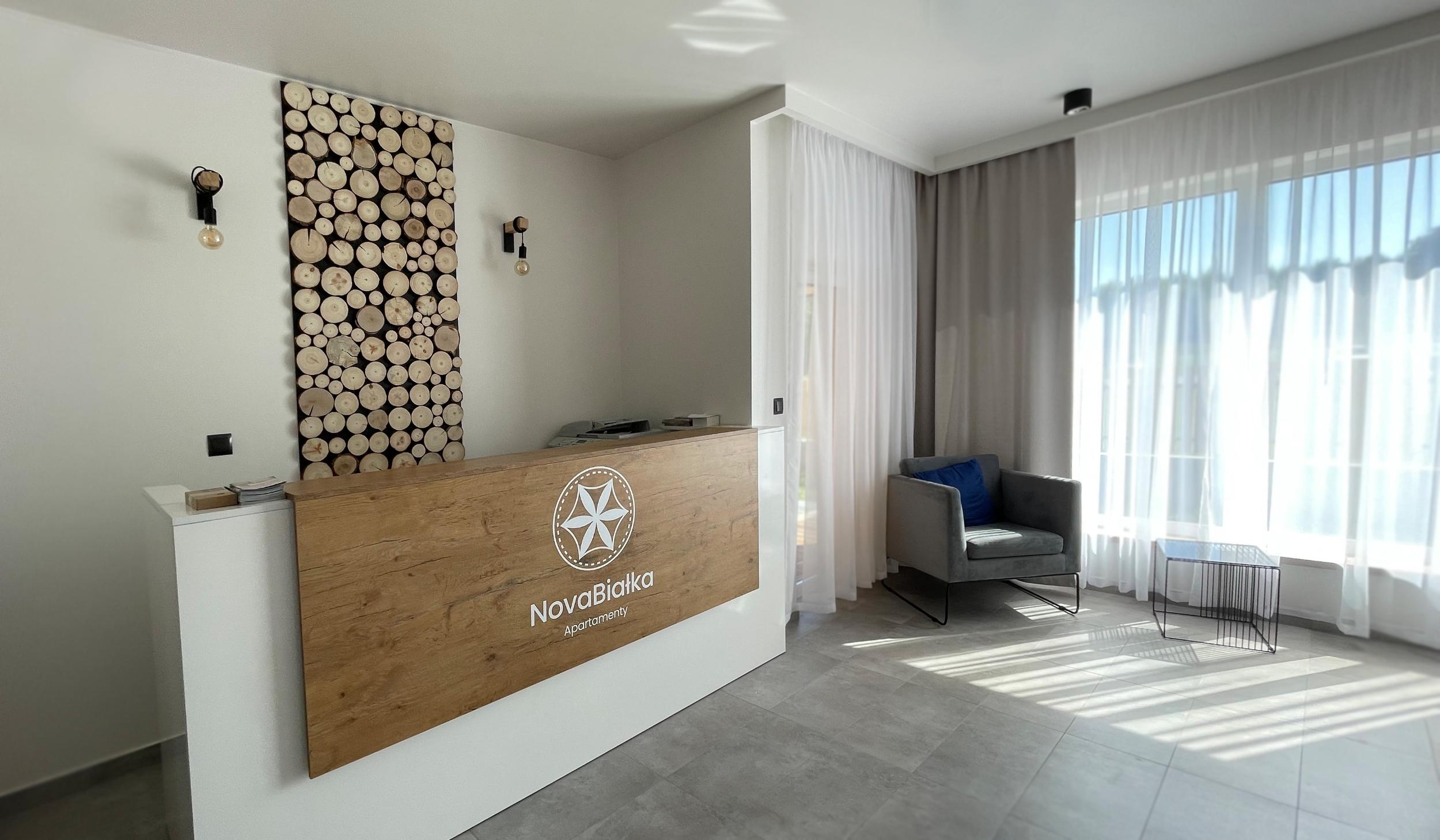Apartamenty NOVA BIAŁKA Białka Tatrzańska recepcja