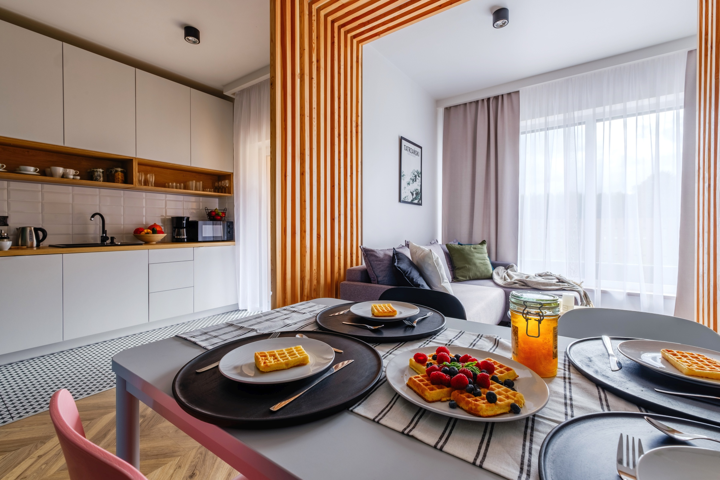 Apartamenty NOVA BIAŁKA Białka Tatrzańska apartament 5 jadalnia