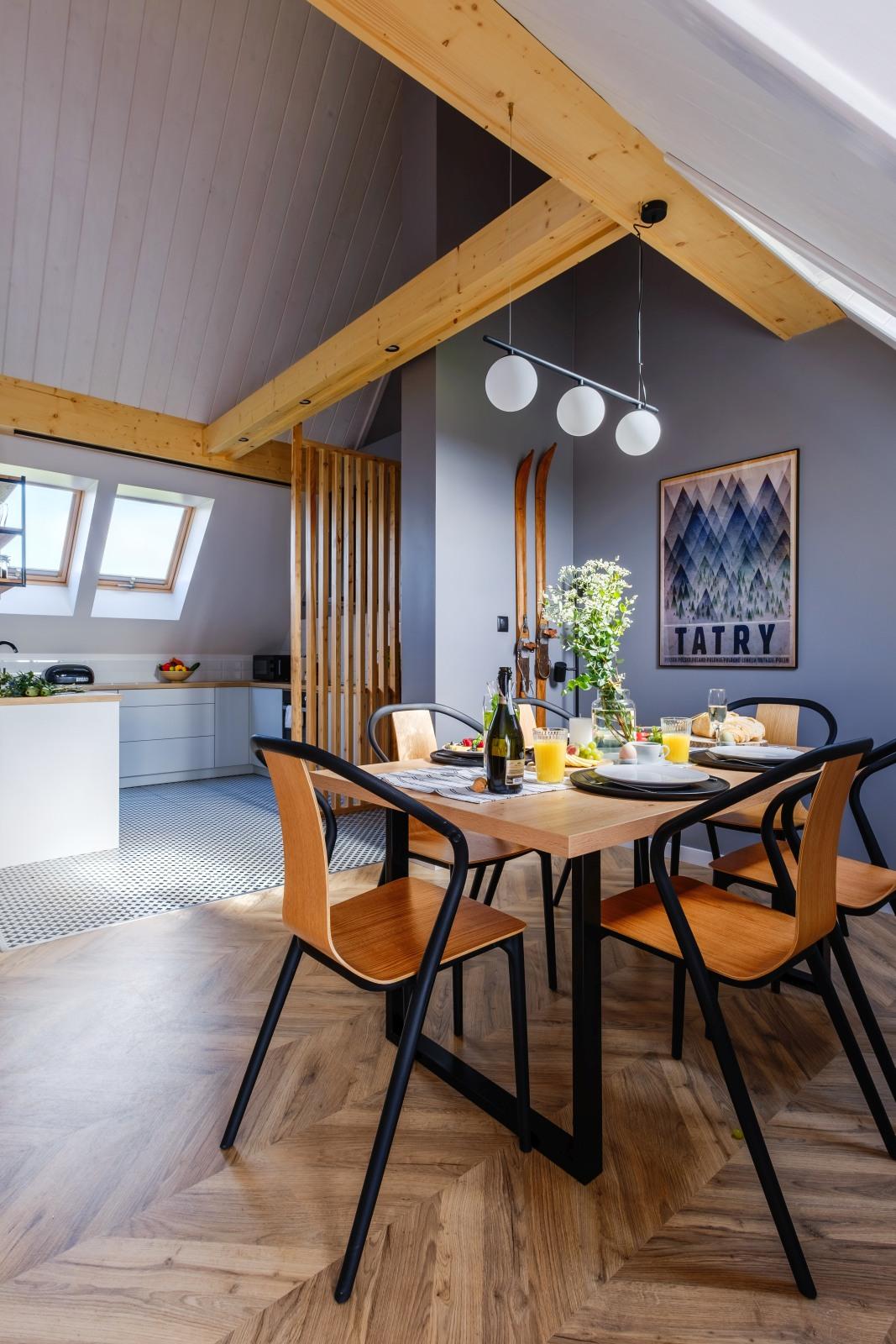 Apartamenty NOVA BIAŁKA Białka Tatrzańska apartament 8 jadalnia 5
