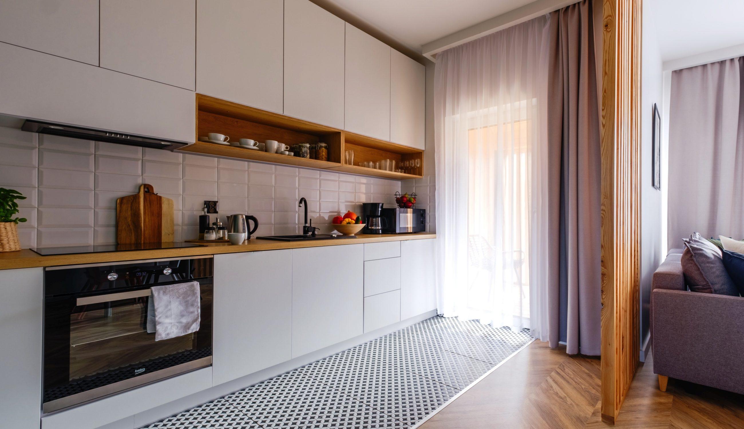 Apartamenty NOVA BIAŁKA Białka Tatrzańska apartament 5 aneks kuchenny