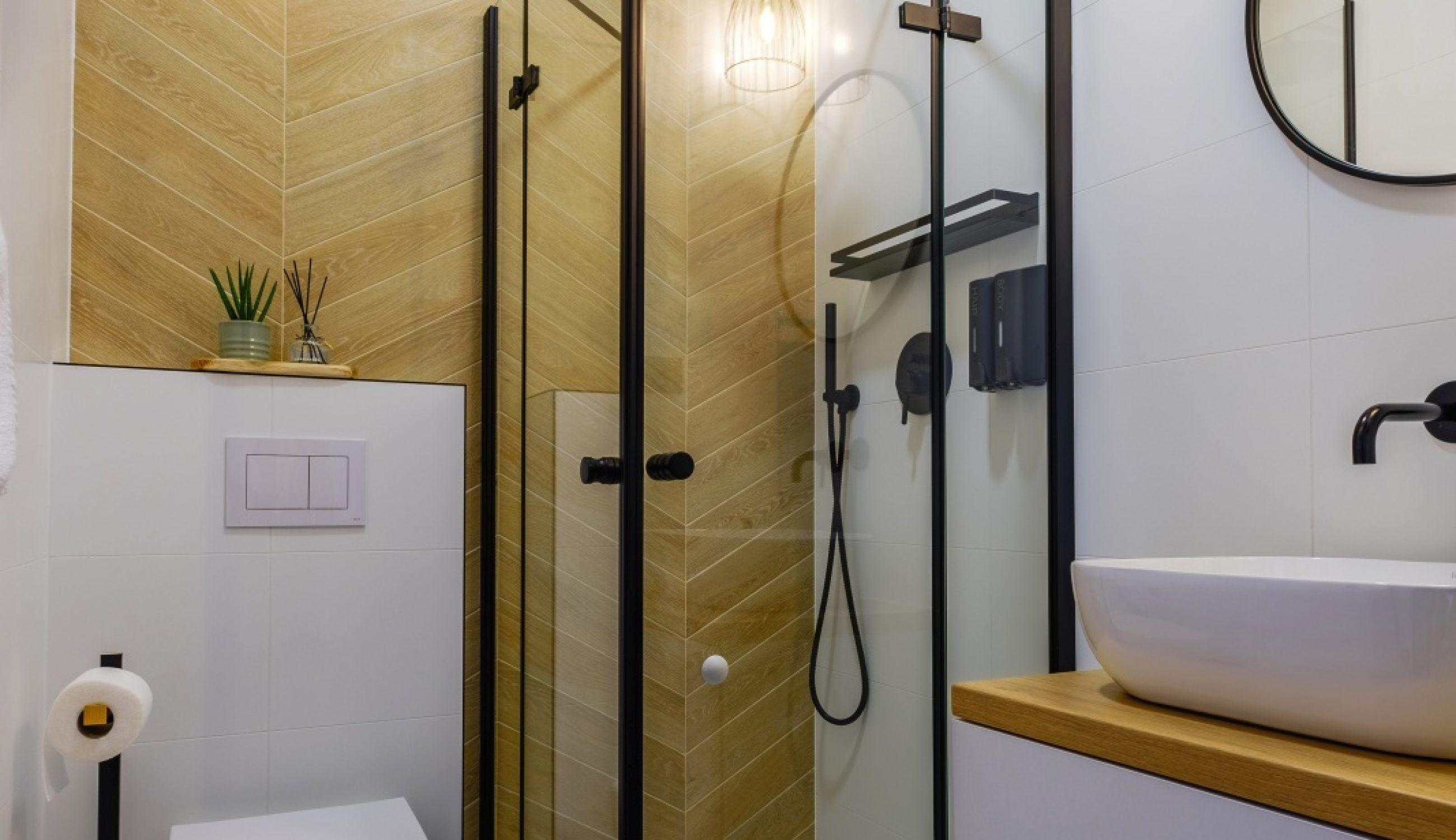Apartamenty NOVA BIAŁKA Białka Tatrzańska apartament 5 łazienka prysznic