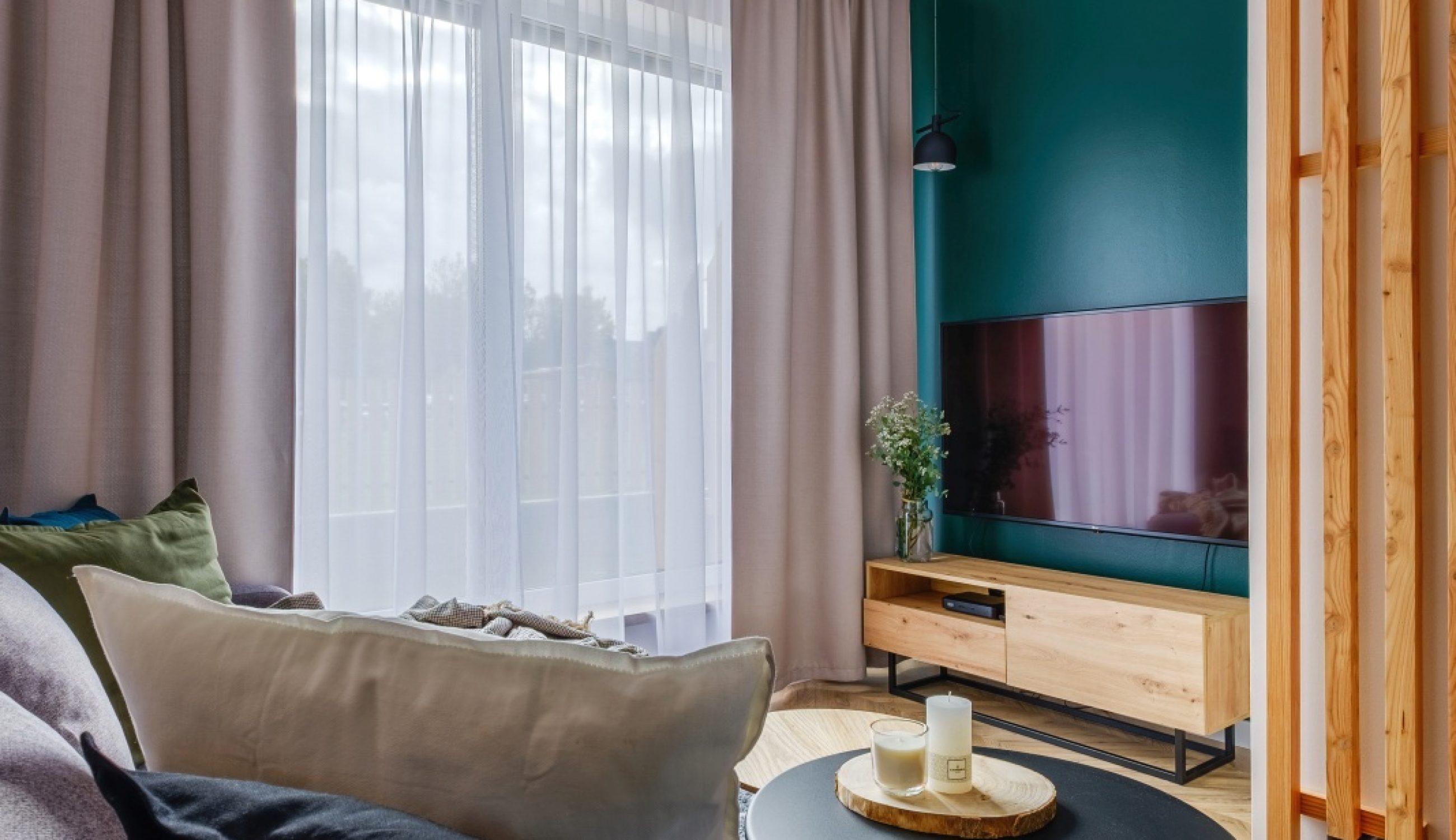 Apartamenty NOVA BIAŁKA Białka Tatrzańska apartament 5 salon rtv