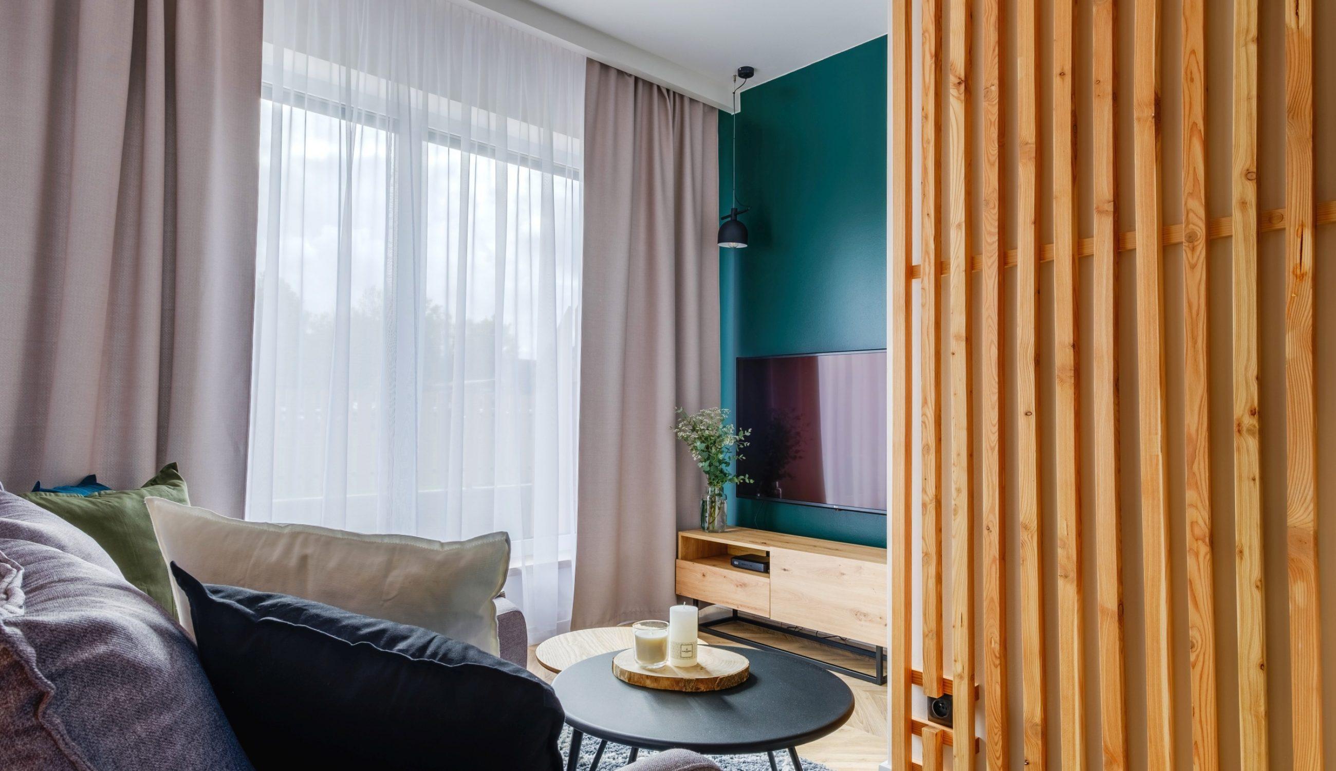 Apartamenty NOVA BIAŁKA Białka Tatrzańska apartament 5 salon wypoczynek