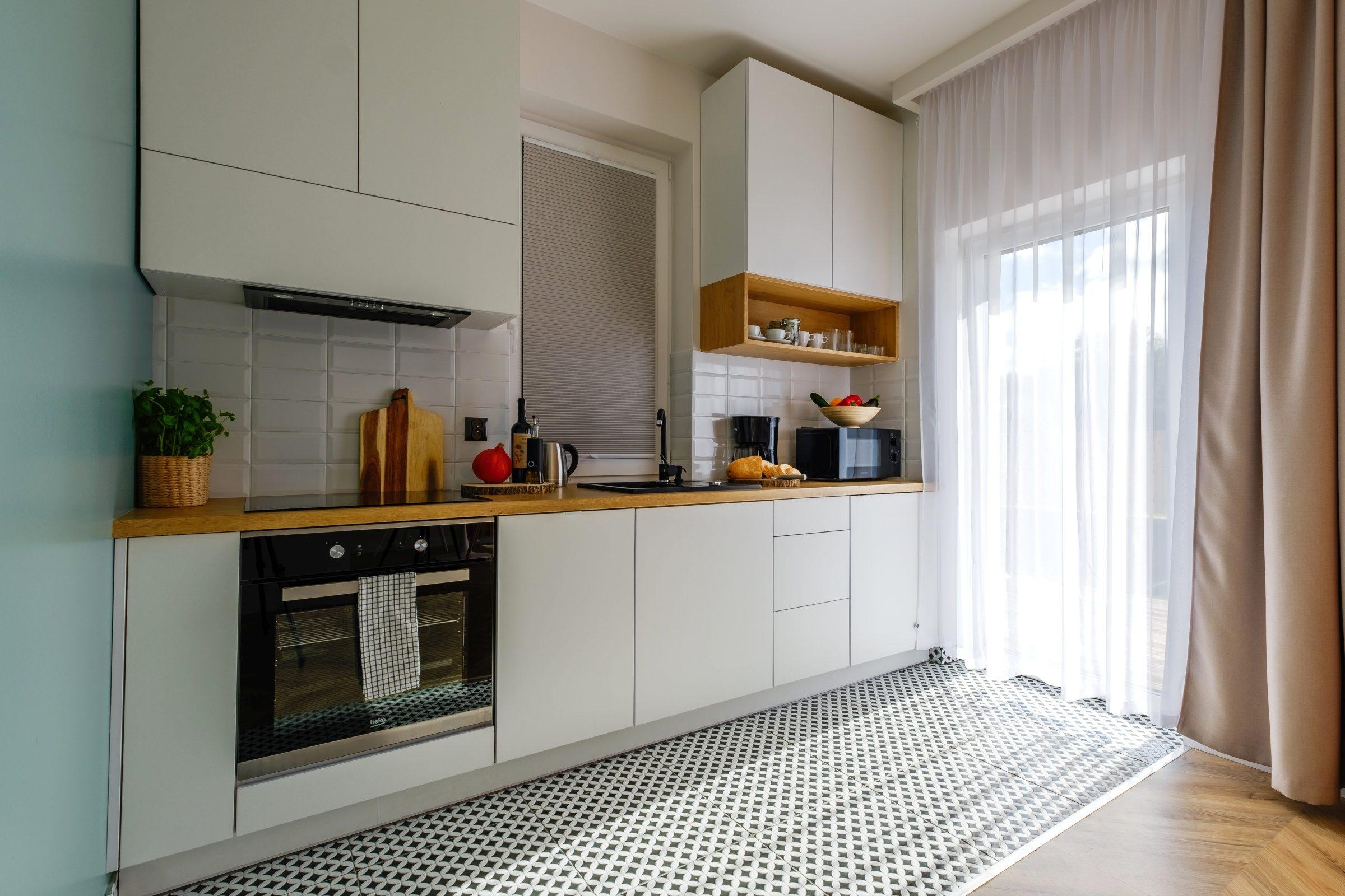 Apartamenty NOVA BIAŁKA Białka Tatrzańska apartament 7 aneks kuchenny