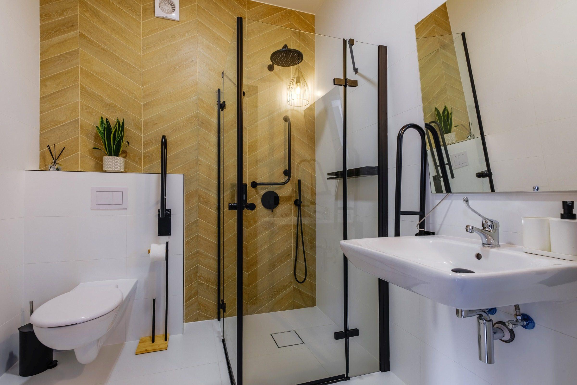 Apartamenty NOVA BIAŁKA Białka Tatrzańska apartament 7 łazienka przyjazna niepełnosprawnym